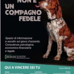 Locandina di presentazione della campagna di sensibilizzazione contro il gioco d'azzardo