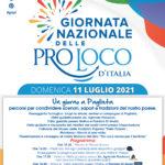 locandina di presentazione della Giornata Nazionale delle Pro Loco d'Italia